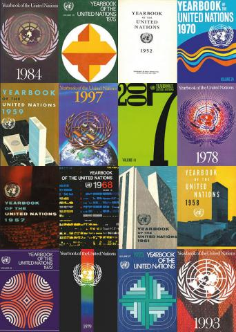 the yearbook cover the yearbook of the united nations