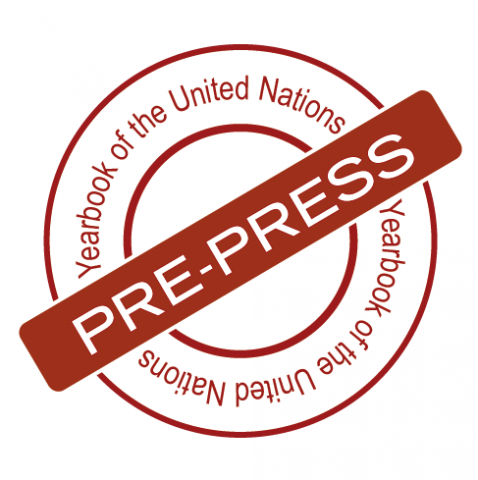 Yearbook of the United Nations Pre-press 2011