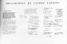 Declaration of the United Nations